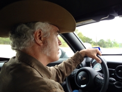 Trucking through the Hill Country.